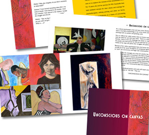 Booklet design for an artist in Thousand Oaks