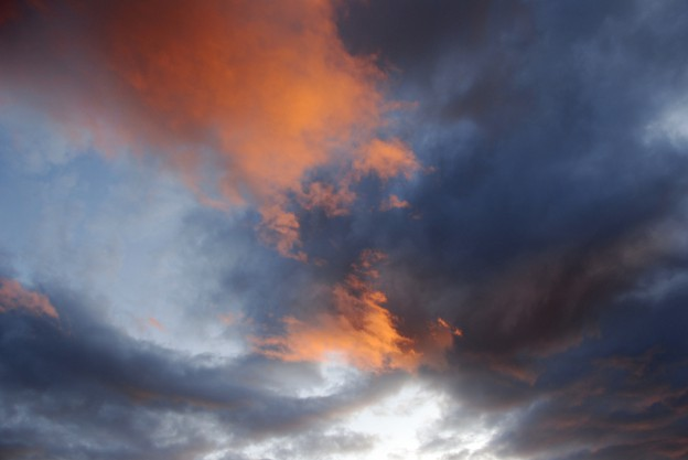Clouds, photo by Donna Greene