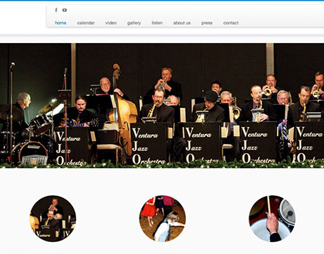 Ventura Jazz Orchestra website