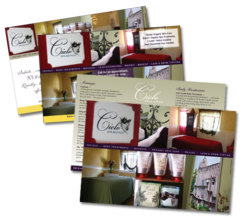 Cielo Spa and Boutique graphics