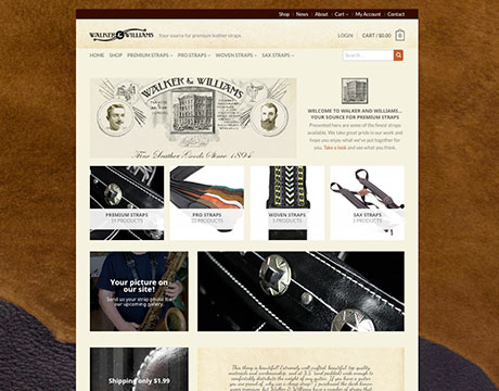 Walker & Williams website